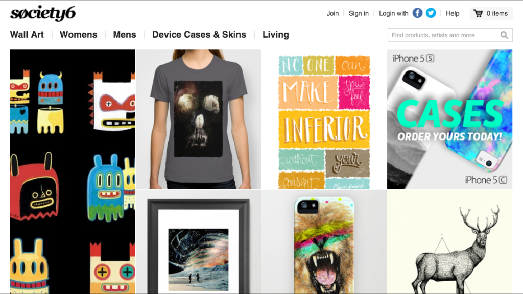 Common prices, uncommon quality found at Society6 (Review)