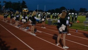 CHS cheerleaders not cheering for the dress code