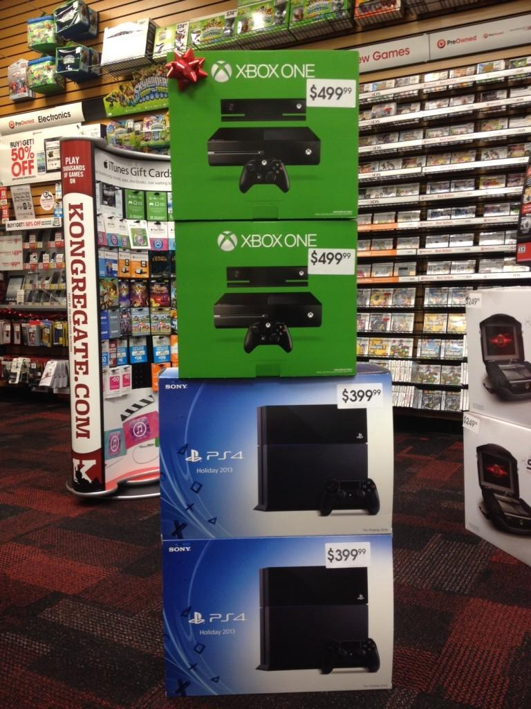 Both of the consoles are sold out in most stores.