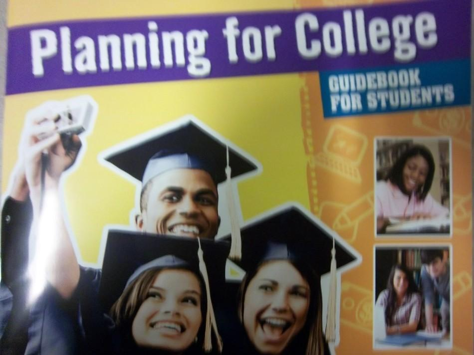 This guide may offer a plan for getting into college but does it offer help in dealing with the pressures of the future?