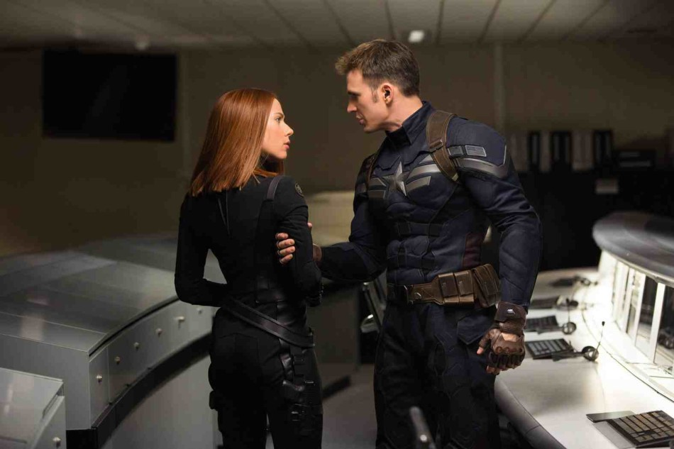 Chris Evans as Captain America and Scarlett Johannson as Black Widow share great chemistry as partners with a complex relationship.