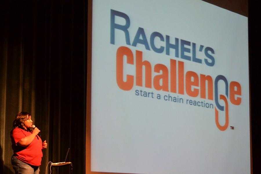 Rachels Challenge Assembly, held April 15 at CHS, emotionally impacted the audience members.