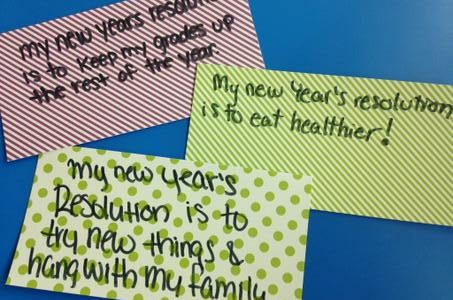 New Year's Resolutions: In or Out?