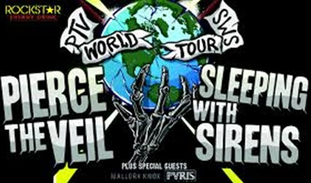 Win 2 Tickets to See Pierce the Veil and Sleeping with Sirens!