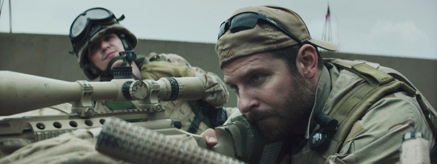 'American Sniper,' featuring Bradley Cooper as Chris Kyle, is breaking box office records as highest grossing war film.
