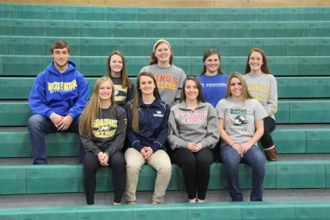 Congrats to these senior athletes!