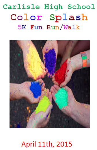 Register today for the CHS Color Splash and get a free t-shirt!