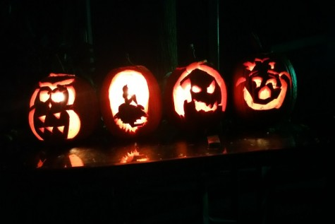 These beautifully carved pumpkins followed designs to look like an owl, a mermaid, oogey boogey, and the Cheshire cat.