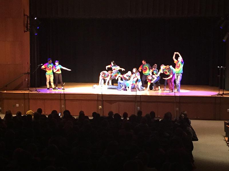 Wingin' it!, one of many groups at CHS, held their 10th anniversary performance back in December.