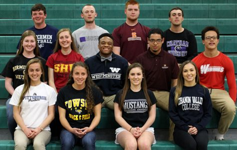 Lucky 13: Students sign to play with future schools during Spring Signing Day