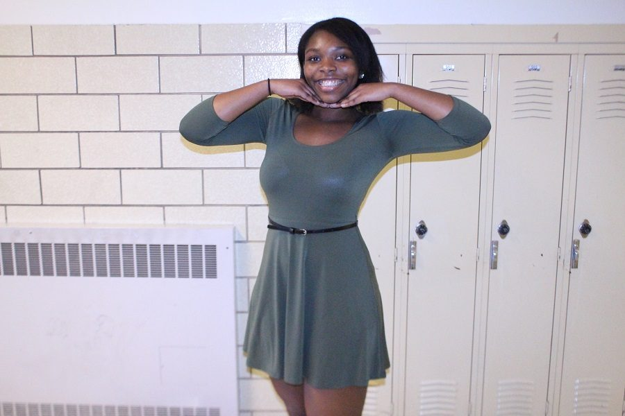 Sariah Grant has been chosen for Humans of CHS this week.