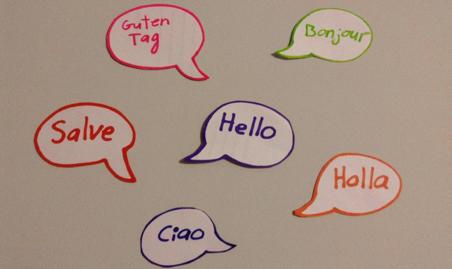 Even knowing a simple phrase, such a greeting, creates a starting place for learning a new language.