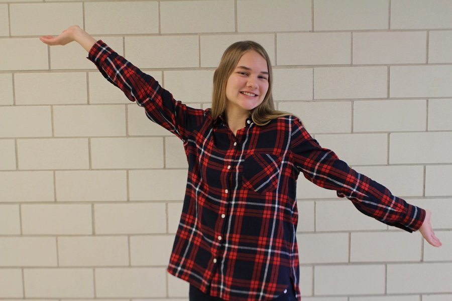 Ashley Musser has been chosen for Humans of CHS this week..
