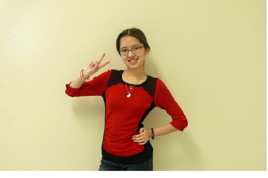 Abigail Garrido has been chosen for Humans of CHS this week.
