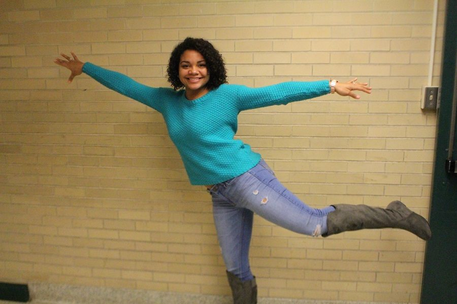 Madi Green has been chosen for Humans of CHS this week.