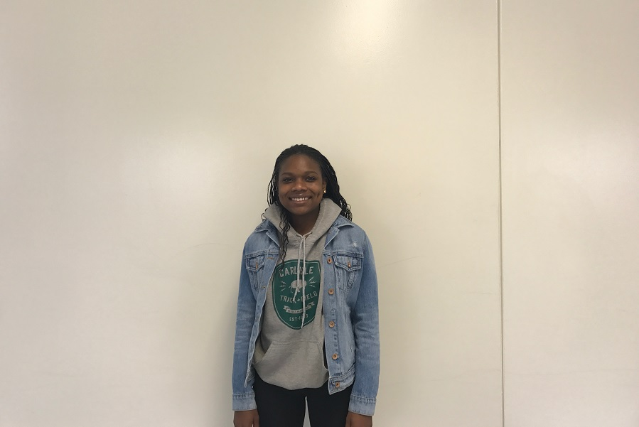 Najae Nickerson is our Athlete of the Month.