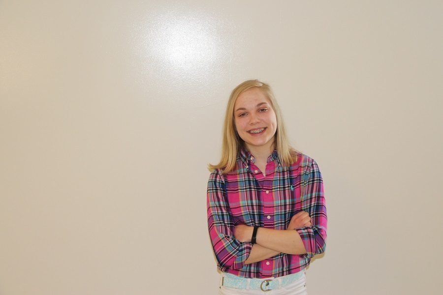 Elise Erickson has been chosen for Humans of CHS this week.