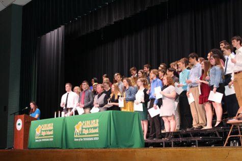 National Honor Society Induction (Photos)