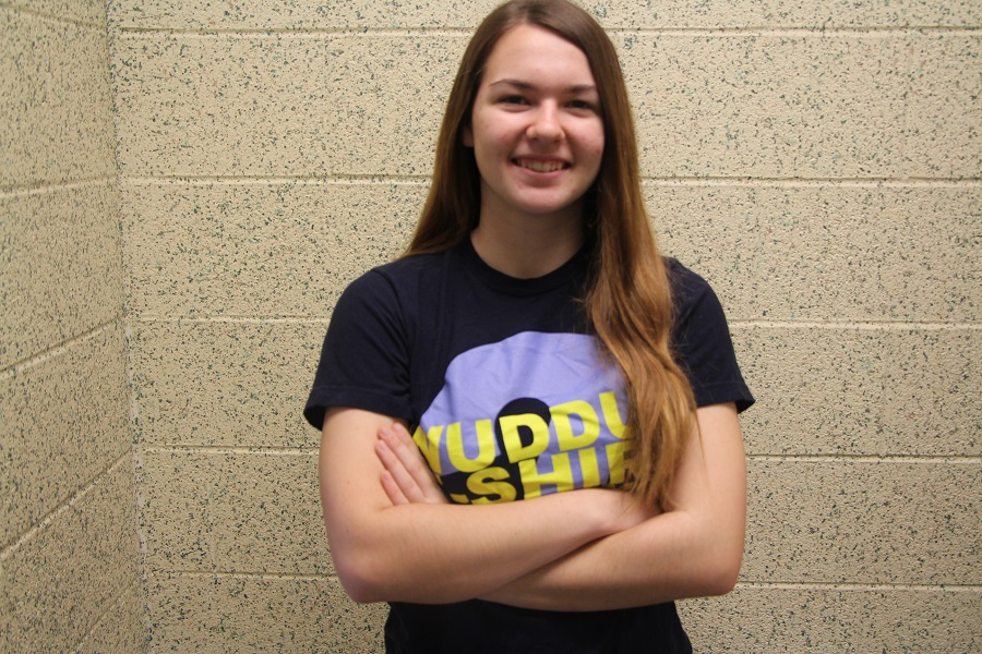Hannah Frick has been chosen for Humans of CHS this week.