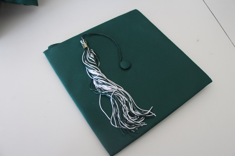 The cap and tassel are essential in students graduation from CHS.