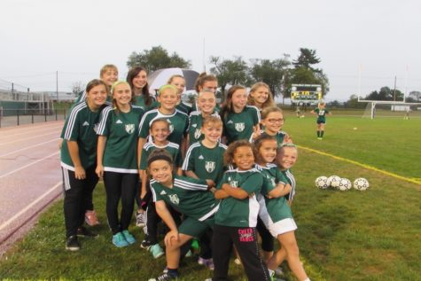 Girl's soccer hosts youth night (Photos)