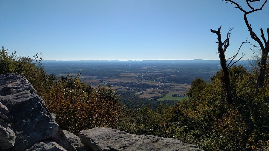 Hawk Watch is a beautiful trail to hike in Carlisle. It leads you to a view of the valley.