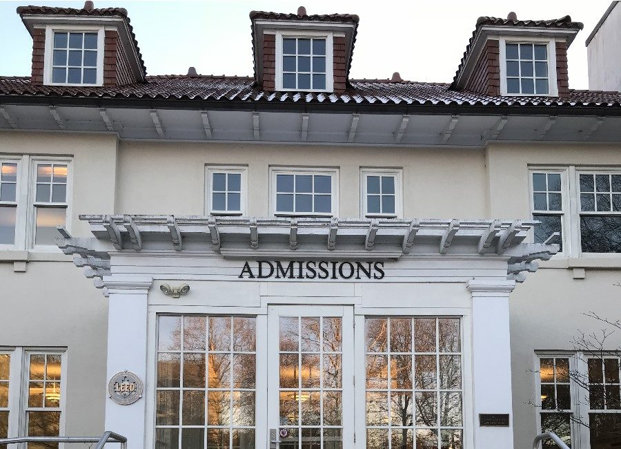The admissions office at Dickinson College. Dickinson has just introduced a new full-ride scholarship for Carlisle residents.