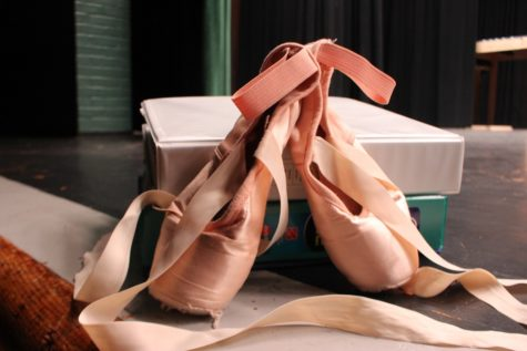 Ballerinas put in many hours at the dance studio and at school. The ballet school draws many students from all over to Carlisle.