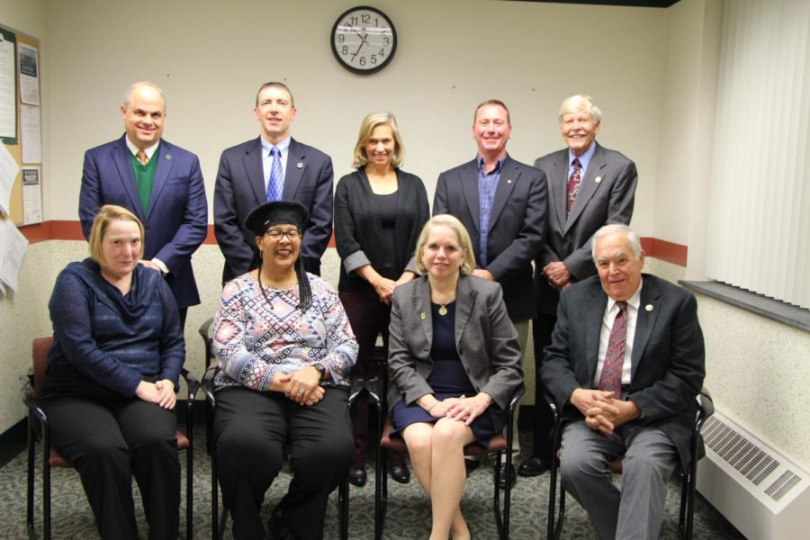 The 2017-2018 Carlisle school board. Five members of the board were up for, and recieved, reelection in the fall of 2017.