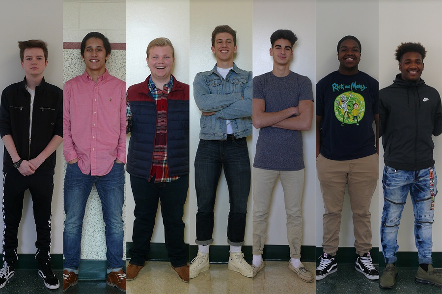Seven senior guys will vie for crown of Winterball King this Saturday.  Get to know them better in our profiles.