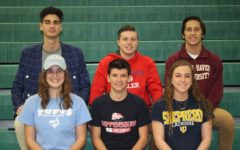 Putting your name on the line: CHS students officially sign with schools