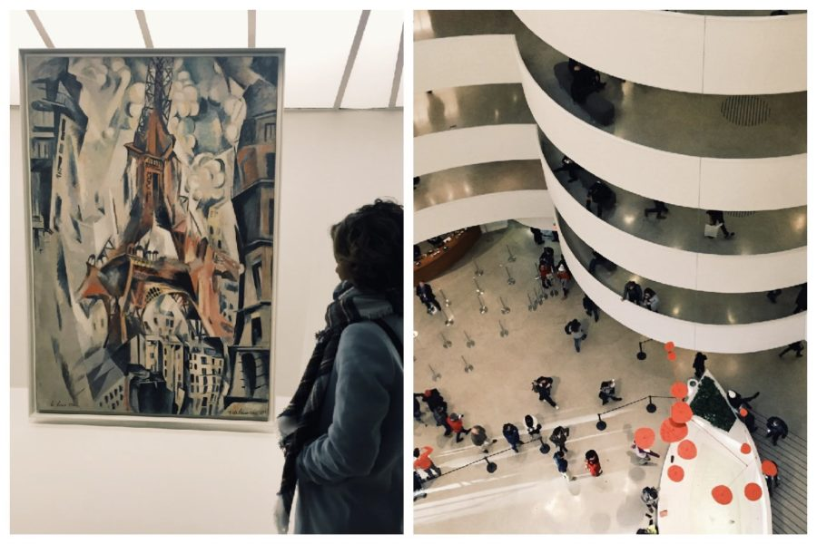 Some+of+the+artwork+found+at+the+Guggenheim+Museum.+The+Guggenheim+is+one+of+the+three+museums+students+will+visit+on+the+trip.