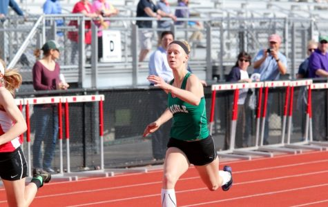 Girls track team gets historic win over Cumberland Valley