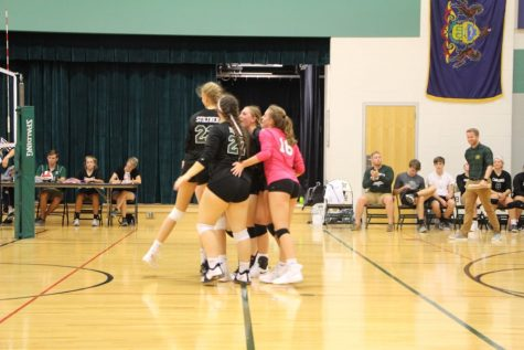 CHS volleyball fights against State College