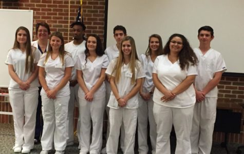 Nearly nurses: CHS students complete CNA classes