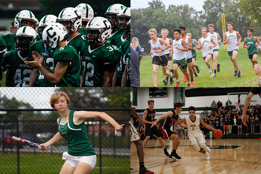 Carlisle varsity football, cross country, tennis and basketball showcased their skills in the past two seasons, leaving to question which sports received the most attention and why.