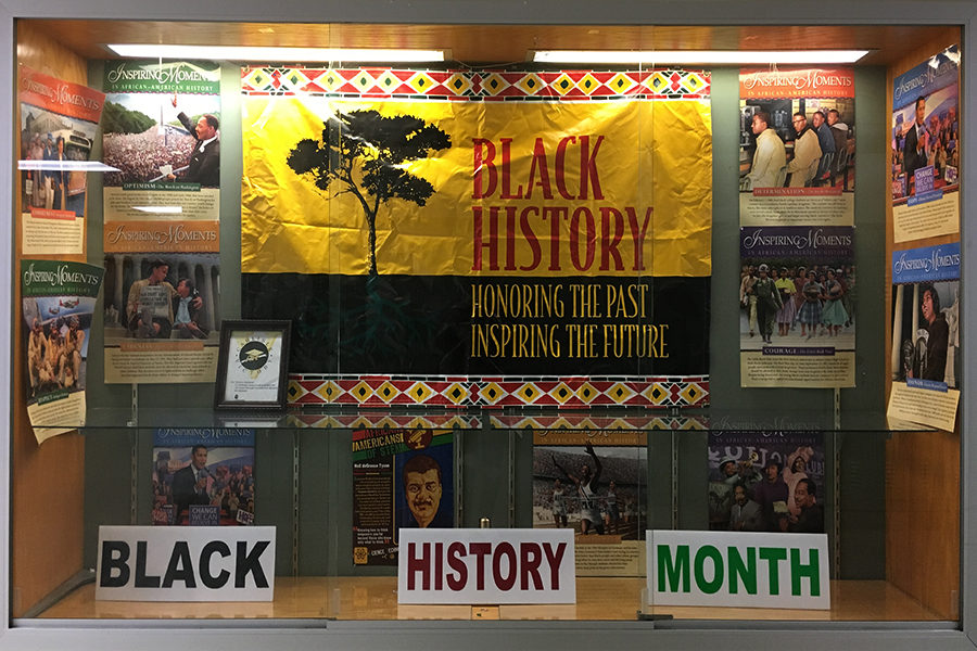 Black+History+Month+is+honored+in+this+Swartz+display+to+showcase+the+rich+past+of+African+Americans.++While+this+is+a+good+start%2C+we+need+to+do+more+to+fully+embrace+the+importance+of+Black+History+Month.