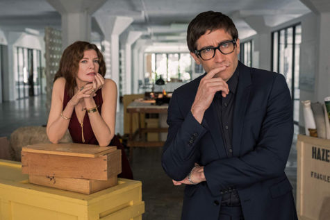 The new Netflix horror film, Velvet Buzzsaw, stars Jake Gyllenhaal and Rene Russo. The film released on Jan 31, 2019.