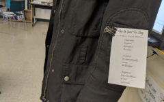 During Poetry Week, students are encouraged to wear their favorite poems on their clothing.  Wearable Poetry will be on Wednesday April 17 this year.