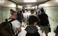 Chaotic crowds: Freshmen class takes over Swartz