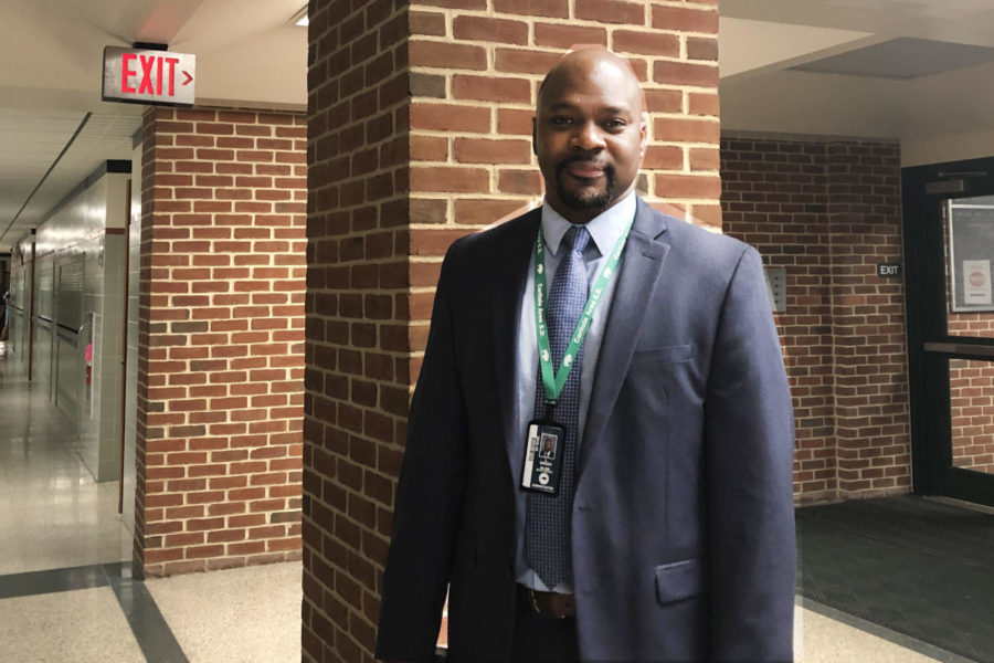 Ninth grade principal Luther Green