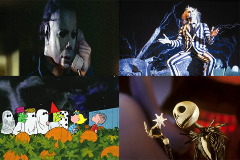 Beetlejuice,The Nightmare Before Christmas, Halloween, and It