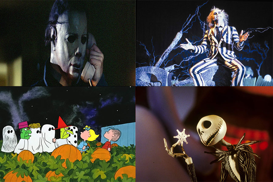 Beetlejuice,The Nightmare Before Christmas, Halloween, and It's the Great Pumpkin, Charlie Brown are some the most classic Halloween films.  Each movie falls under a different genre, to appeal to all people.