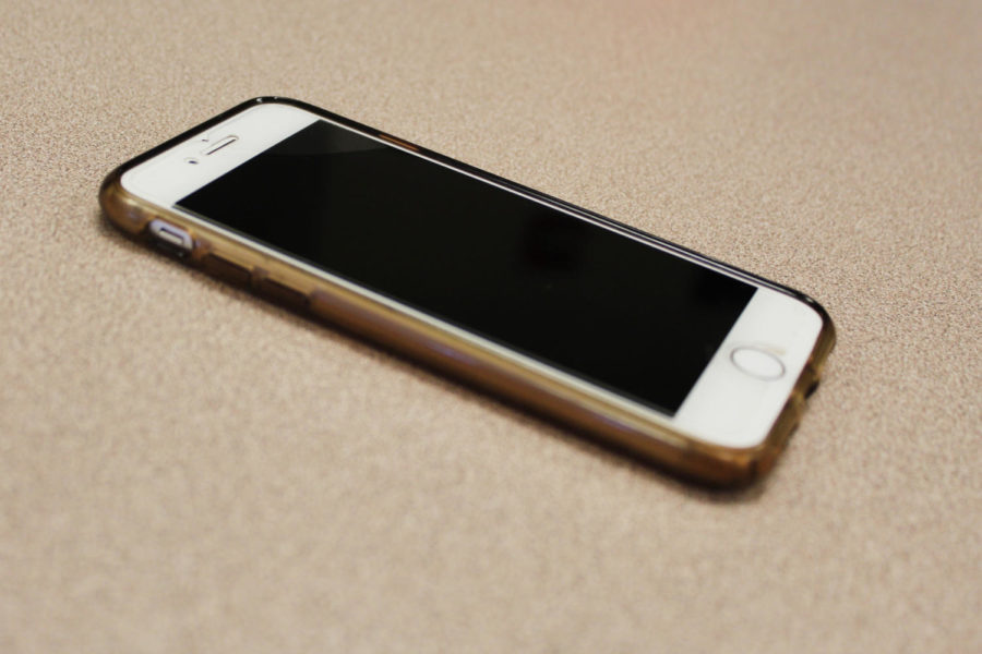 The familiar sight of a cell phone sitting on a desk is one for the past.  CHS has instituted a new policy that expects students to put their phones away during instructional time.