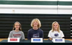 Charting a new course: three cross country seniors sign with future colleges