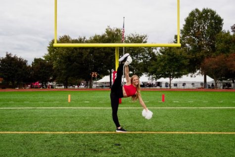 Tumbling into a new season: cheerleading to hold tryouts