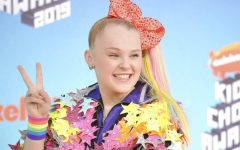 FINDING PEACE: JoJo Siwa arrives at the Nickelodeon Kids' Choice Awards on Saturday, March 23, 2019, at the Galen Center in Los Angeles. Siwa recently came out as a member of the LGBTQ community.