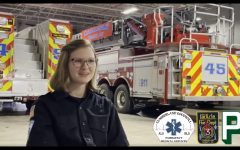 THUNDERING HERO: Grace Snyder, a CHS graduate from the class of 2020, has been recognized for her selfless actions during the early-morning car fire on January 7. Her actions dramatically changed the outcome of that night in the best way possible.